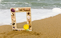 Picture Shell Frame , Stock Photo