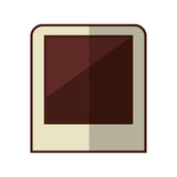 Picture shot isolated icon Royalty Free Stock Image