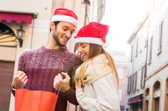 Christmas in love royalty free stock image