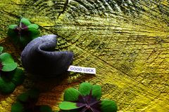 Good luck wishes royalty free stock photography