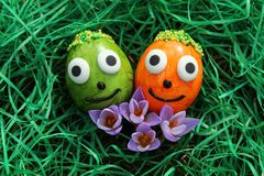 Happy easter greetings royalty free stock photo