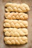 Artisanal bread on a table royalty free stock photos