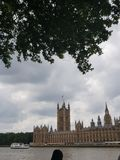 The Houses of Parliament London royalty free stock photo