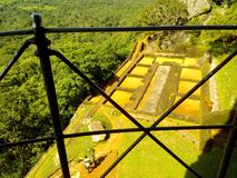 Middle of Sunny Sigiriya rock royalty free stock photos