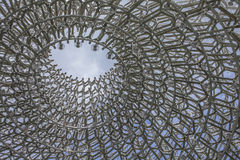 Kew Garden, the Hive and the skies. stock photos