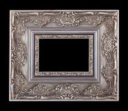Picture silver frame Stock Photos
