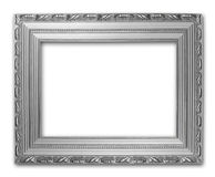 Picture silver frame Royalty Free Stock Image