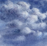 Picture, sky with clouds Royalty Free Stock Images