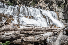 Picture of small waterfall Royalty Free Stock Image