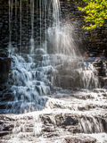 Picture of small waterfall Royalty Free Stock Photo