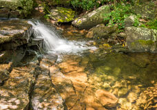 Picture of small waterfall Stock Image