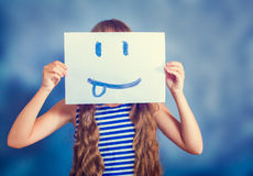 Picture of a smiling faces Royalty Free Stock Image