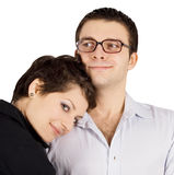 Picture of a smiling young couple in love Stock Photography