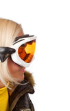 Picture of snowboarder Stock Images