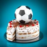 Picture a soccer ball Stock Photos