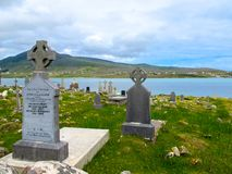 Cemetery Graveyard over looking Achill Sound