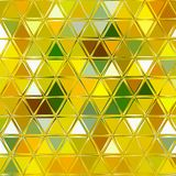 Yellow, white and green background, picture of spring and summer, pretty spring triangle pattern for card, banner or baby textile. Picture of spring and summer Royalty Free Stock Images