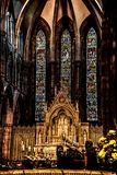 St. Mary`s Cathedral, Edinburgh, Scotland royalty free stock photography