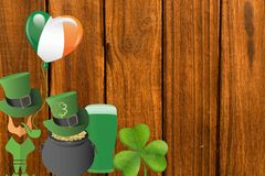 Picture for st patricks day Royalty Free Stock Image
