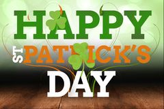 Picture for st patricks day. Wishing happy st patricks day Royalty Free Stock Photography