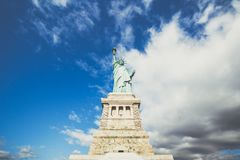 New York Statue of Liberty stock image