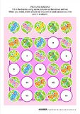 Picture sudoku puzzle with butterflies Stock Images