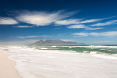 Picture of Table Mountain. stock photography
