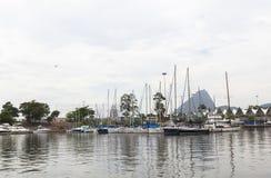 Port of cruise at Guanabara bay in Rio de Janeiro, Brazil