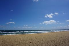 Beach close to Melbourne in Australia royalty free stock images