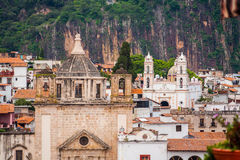 Picture of Taxco, Guerrero a colorful town in Mexico. Royalty Free Stock Photos