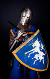 Picture of tired knight Royalty Free Stock Photography