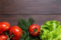 Picture with tomatoes. Royalty Free Stock Photo