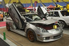 Toyota celica. Picture of toyota celica with lambo door in display during the autorama montreal september 16-17 2017 Royalty Free Stock Image