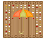 Picture of umbrella Royalty Free Stock Photos
