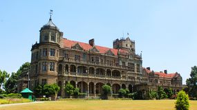 A picture of viceregal lodge or indian institute of advance studies in shimla stock images