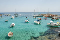 Picture View of Egadi Island Royalty Free Stock Photos