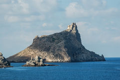 Picture View of Egadi Island Royalty Free Stock Photos