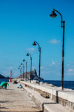 Picture View of Egadi Island Royalty Free Stock Photo