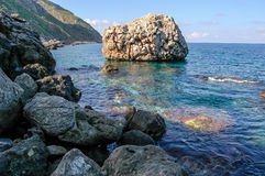 Picture View of Egadi Island Royalty Free Stock Image