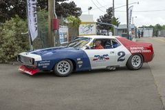 Javelin race car Royalty Free Stock Photography