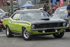 Plymouth cuda aar Royalty Free Stock Images