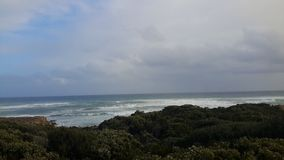 Sea. The picture was taken in point view in Great Ocean Road Stock Photography