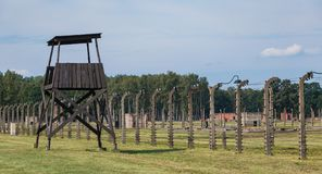 Birkenau Fences IV Stock Photos
