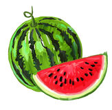 Picture of watermelon Royalty Free Stock Photos