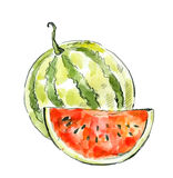 Picture of watermelon Stock Photography