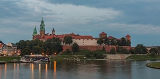 Wawel Hill III royalty free stock image
