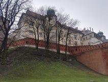 Wawel Castle in Krakow, Poland Stock Images