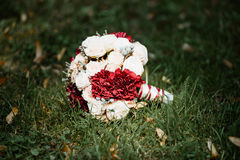 Picture of a wedding bouquet Royalty Free Stock Photography