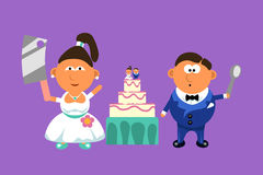 Picture of wedding Stock Images