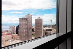 Picture window Seattle Stock Images